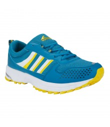 Vostro SinghamR005 Peacock Yellow Men Sports Shoes VSS0081